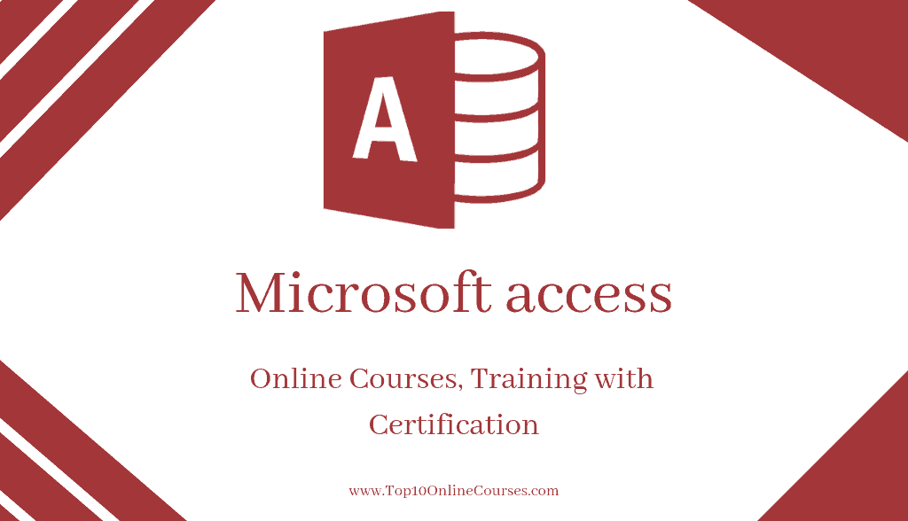 Microsoft access Online Courses, Training with Certification