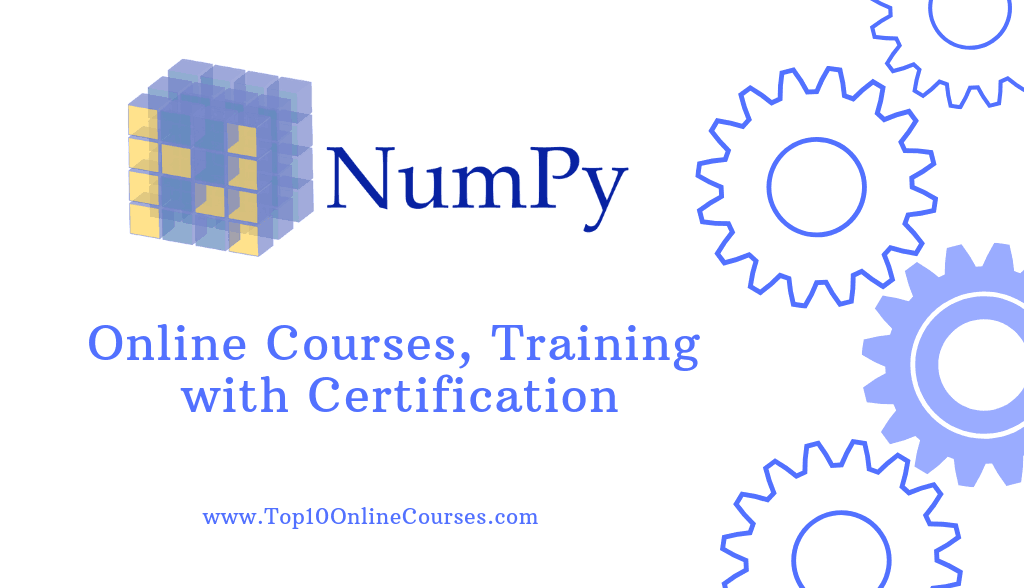 Numpy Online Courses, Training with Certification