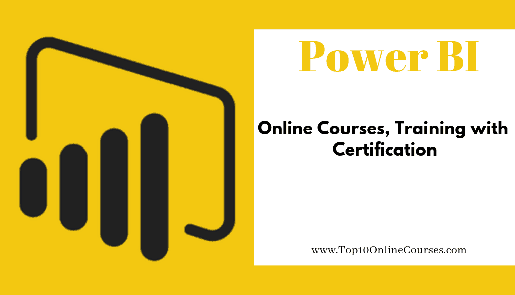Power BI Online Courses, Training with Certification