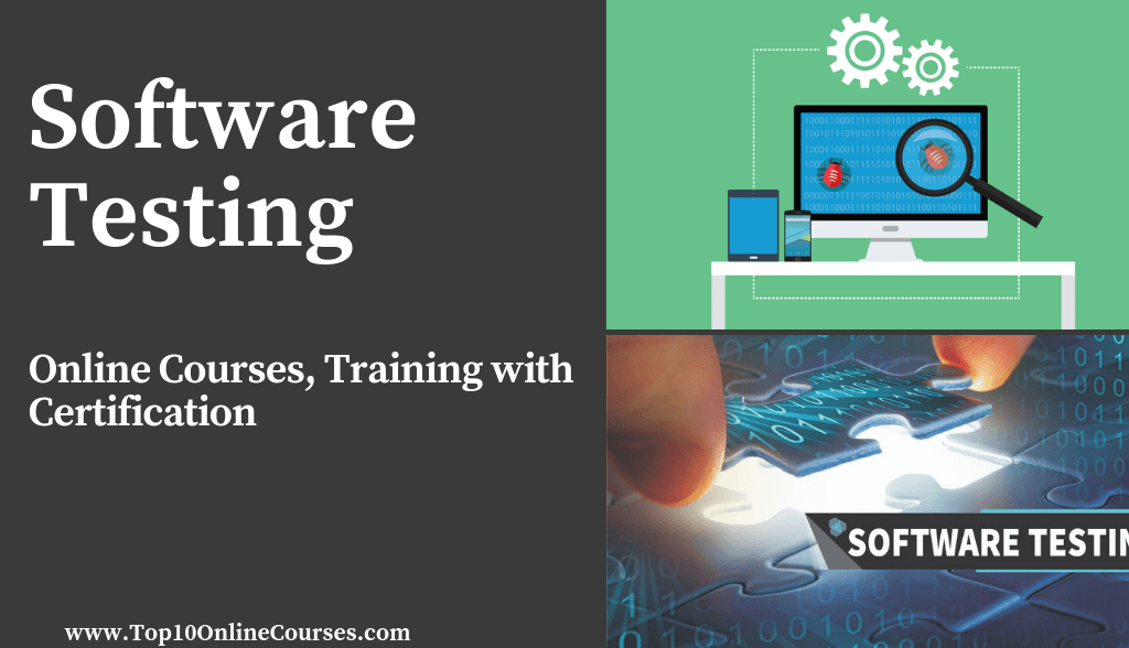 Software Testing Online Courses, Training with Certification