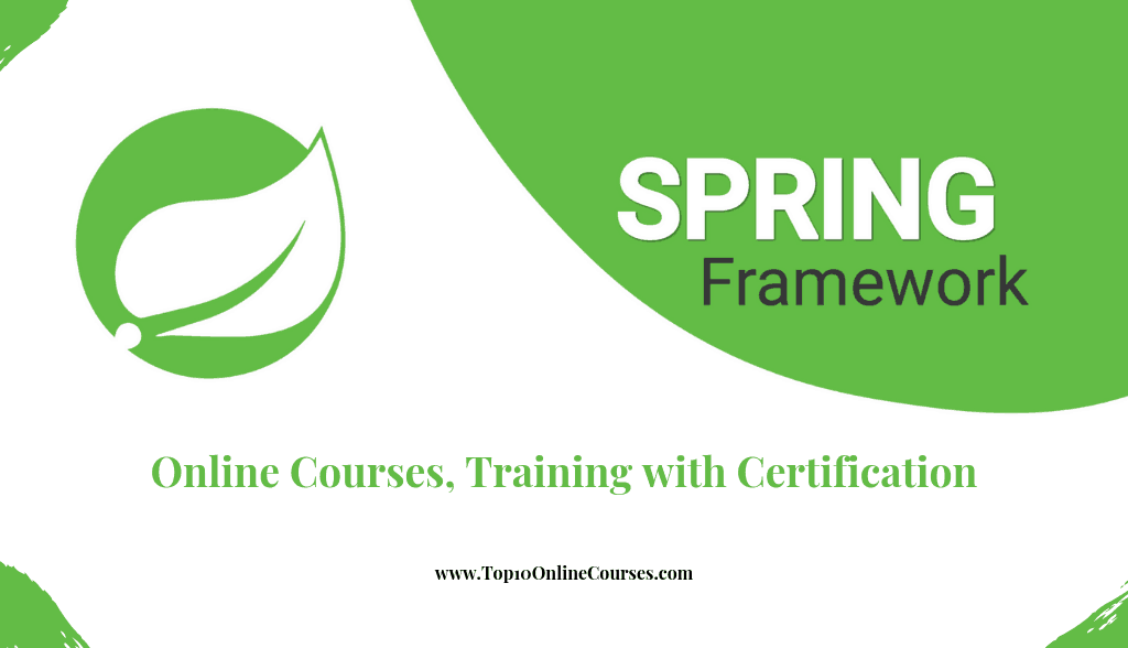 Spring Online Courses, Training with Certification