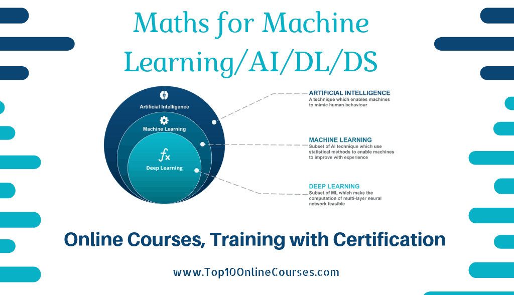 Best Maths for Machine Learning/AI/DL/DS Online Courses ...
