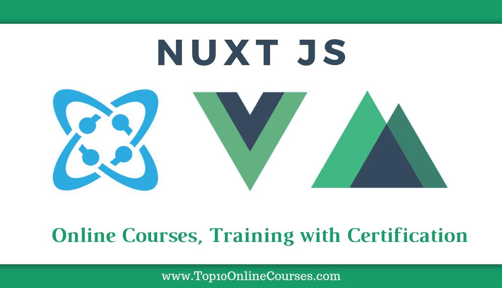 Best Nuxt Js Online Courses Training With Certification